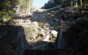 藤本建設 土木工事施工実績 通常砂防04
