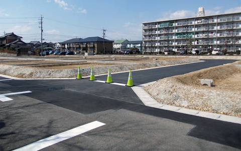 藤本建設 開発事業施工実績 春日井市東野町住宅用地開発01