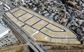 藤本建設 開発事業施工実績 岡崎市西蔵前住宅用地01