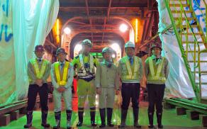 藤本建設 土木工事施工実績 安永川トンネル03