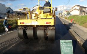 藤本建設 土木工事施工実績 公共下水道事業04
