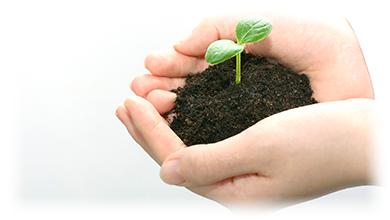環境方針photo 自然環境における環境負荷を低減