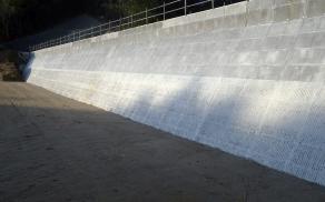 藤本建設 土木工事施工実績 調整池築造工事05